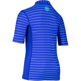 hyphen T-Shirt Boys striped cobalt
